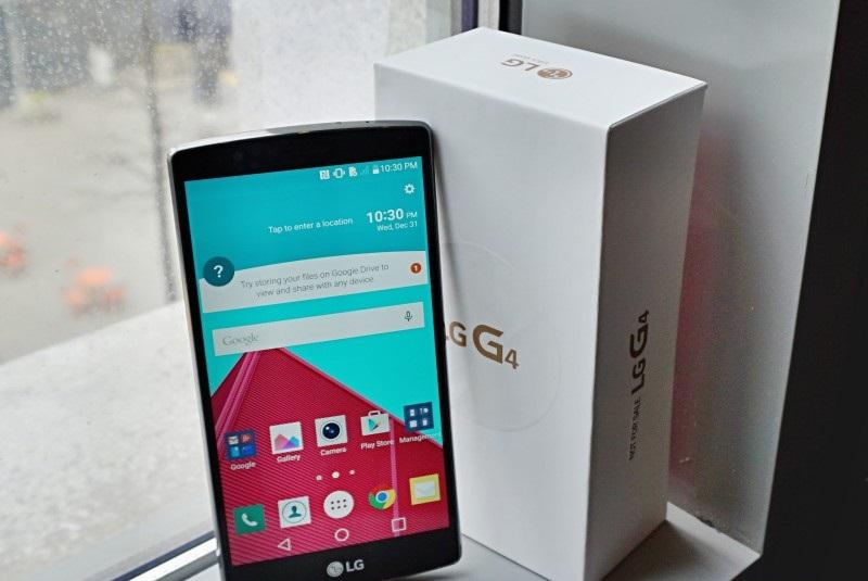 LG G4 box